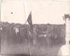 Мітынг партызан брыгады ім. Жукава пасля вызвалення Браслава 06.07.1944 г.